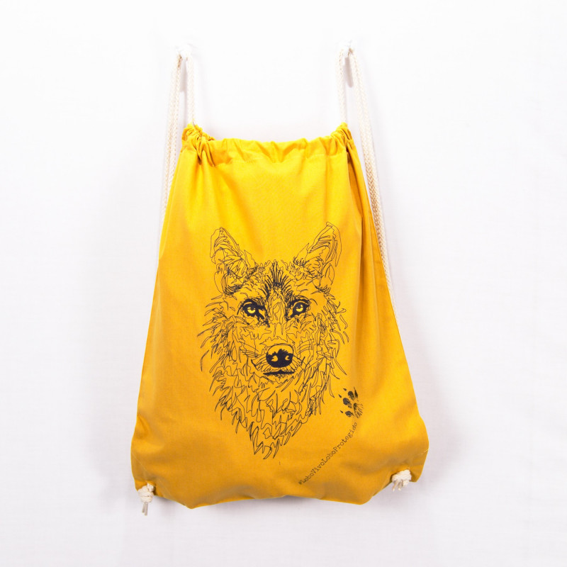 Bag Iberian wolf -- LoboVivoLoboProtegido