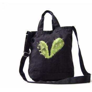 Bolsa Corazón espinado -- ¿Tienes un cactus donde solías tener un corazón?