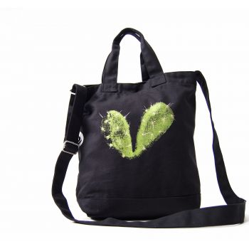 Bag Thorned heart -- Do you get a cactus where a heart used to be?