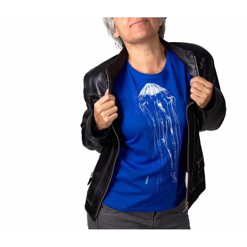 T-shirt Aguaviva -- Missing deep blue sea?