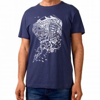 Camiseta Marismas -- Laberintos de agua y sal