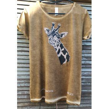 Camiseta Adios amiga Jirafa -- Una extinción silenciosa