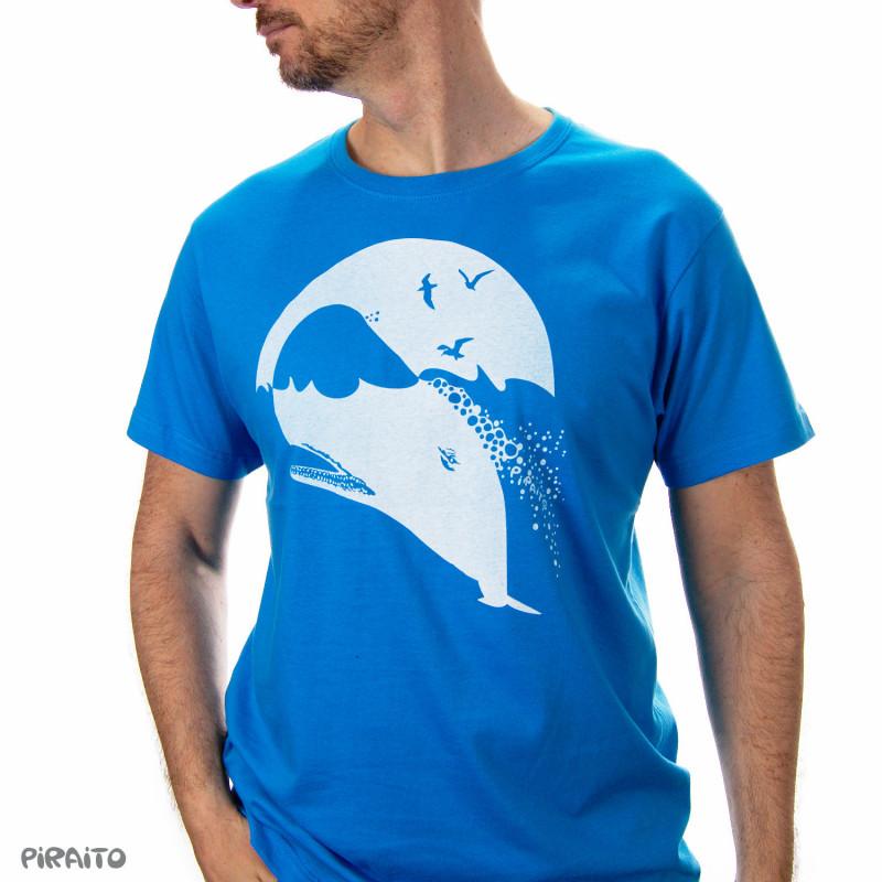Camiseta Cachalote -- Una cabeza bien amueblada para bajar al abismo