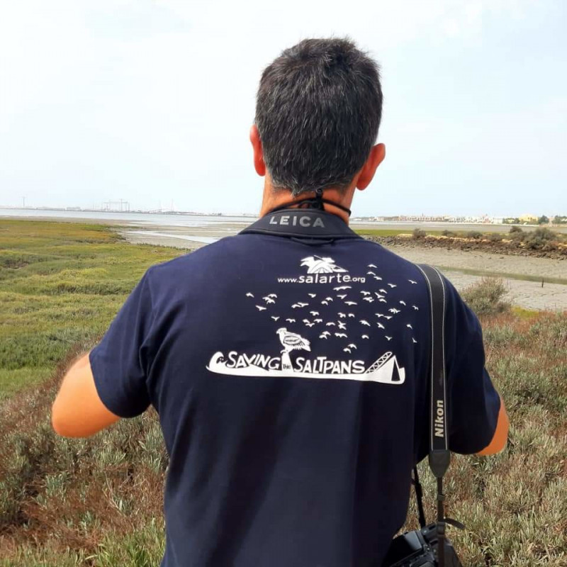 t-shirt East Atlantic Flyway -- Saving the saltpans