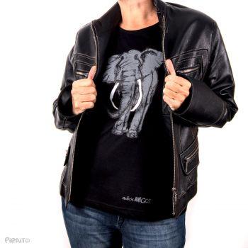 Camiseta manga larga Adiós amigo Elefante -- El sendero de la codicia