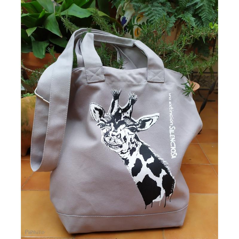 Bag Good bye my friend Giraffe -- A silent extinction