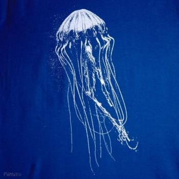 Camiseta Aguaviva -- ¿Echas de menos el fondo del mar?-detalle
