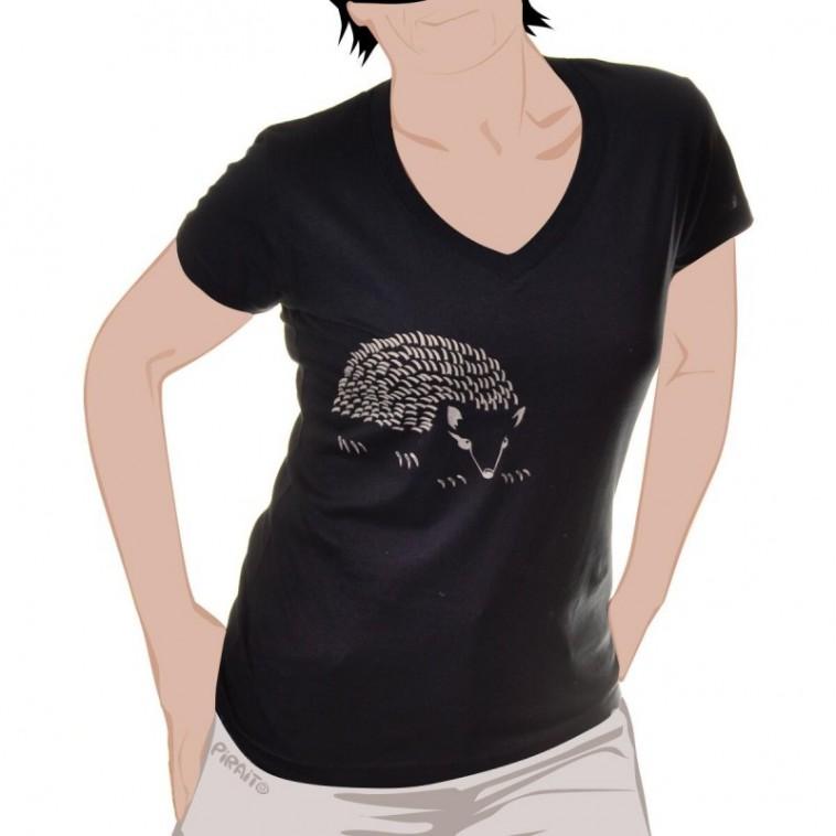 Camiseta Erizo -- Acariciar con cuidado