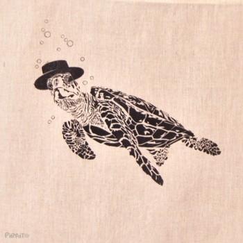 Bolsa Tortuga boba -- Patriarca del Mar-detalle