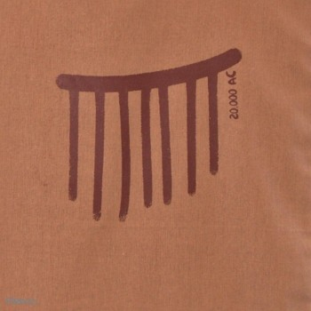 Bolsa Arte sureño: La lluvia -- Escenas cotidianas del pasado...///Ciclos de vida-detalle