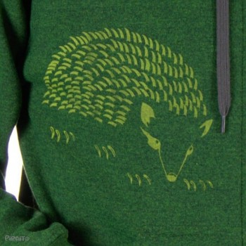 Hoodie Hedgehog -- Gently caress-detalle