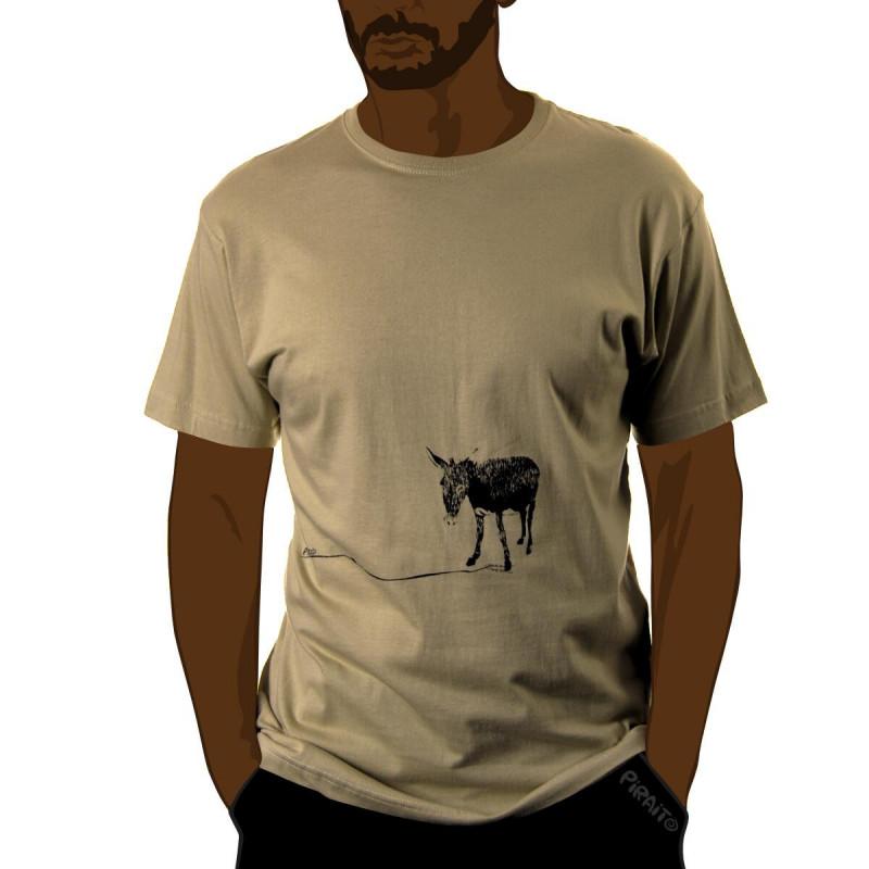 Camiseta Un burro feliz -- Su nombre es Manolín :)