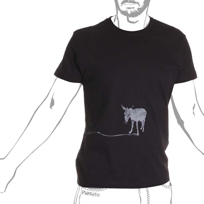 T-shirt A happy donkey -- His name is Manolin :)
