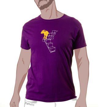 Camiseta Cabraloca -- ¡Pues mejor cabra que borrego!