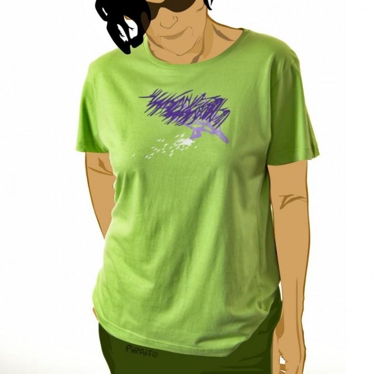 T-shirt Pajaritos en la cabeza -- ...and down to earth