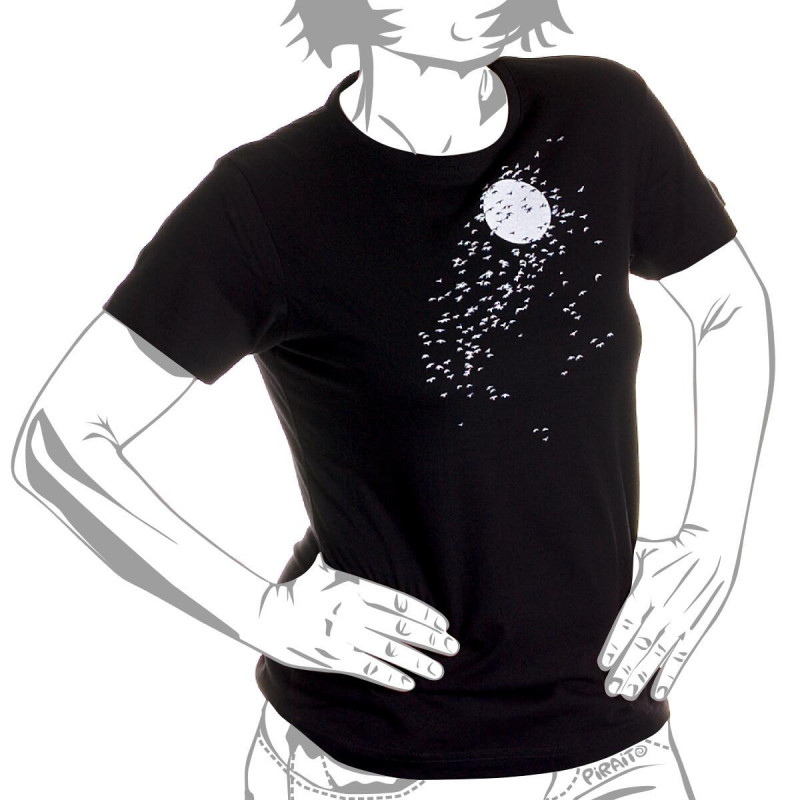 Camiseta Luz de luna -- para mi noche triste///para soñar divina...