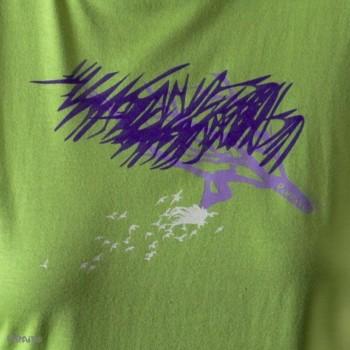 Camiseta Pajaritos en la cabeza -- ...y los pies en la tierra-detalle