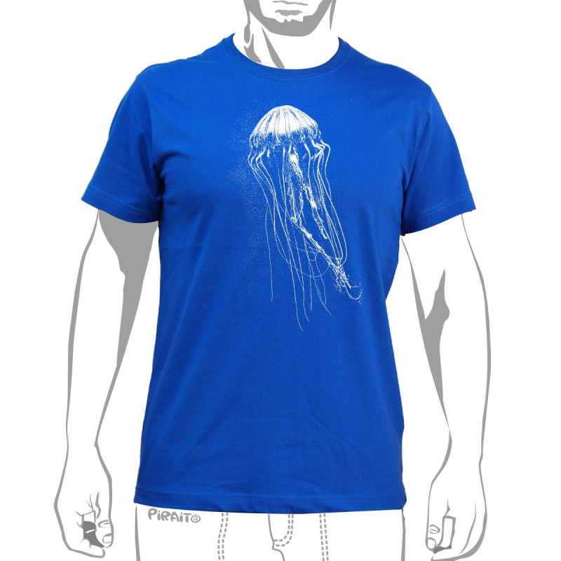 T-shirt Aguaviva -- Missing deep blue sea?