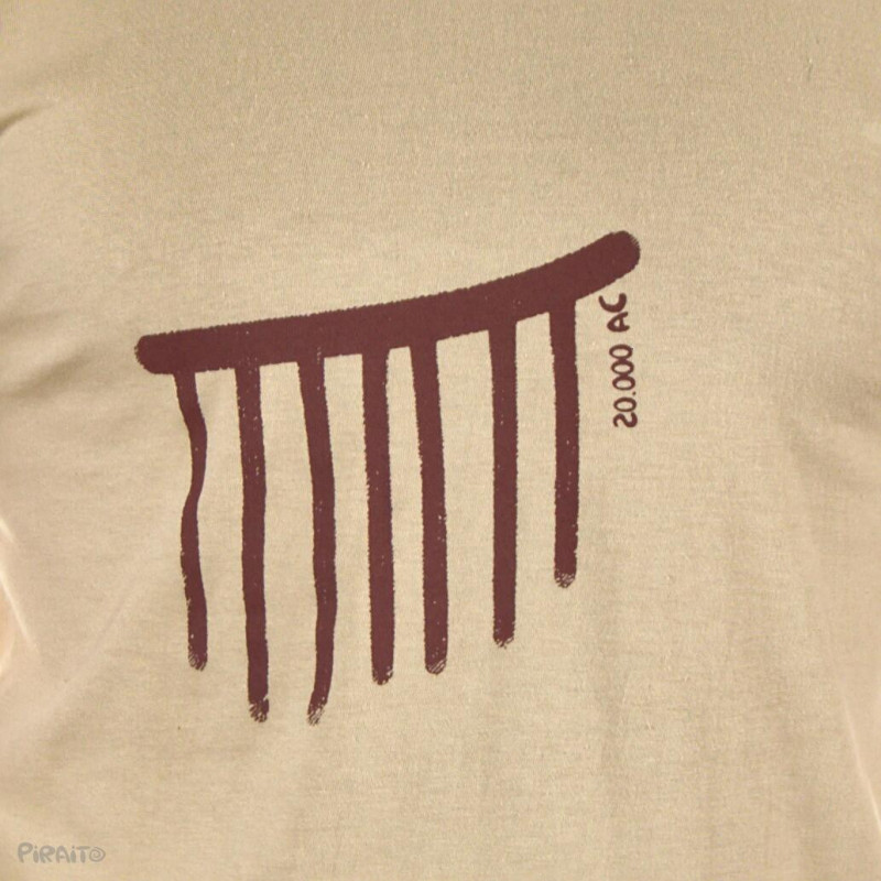 T-shirt Rock art: The rain -- Trivial ancient scenes...///Life cycles