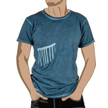 Camiseta Arte sureño: La lluvia -- Escenas cotidianas del pasado...///Ciclos de vida