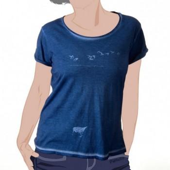 T-shirt A Dunlin flock -- Memories of last summer