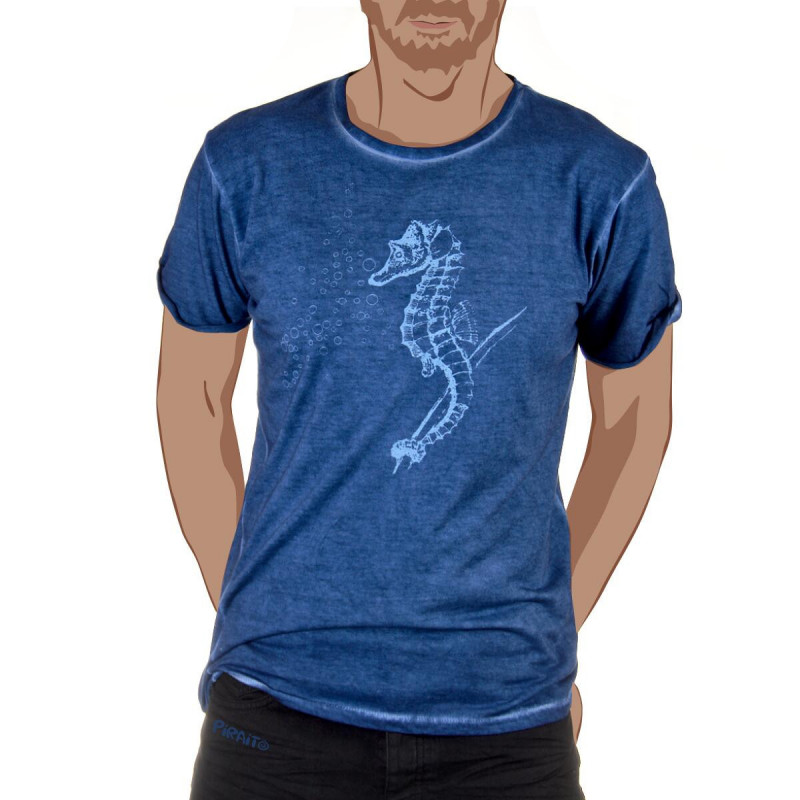 T-shirt Seahorse -- Just a drop of melancholy