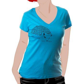 T-shirt Hedgehog -- Gently caress