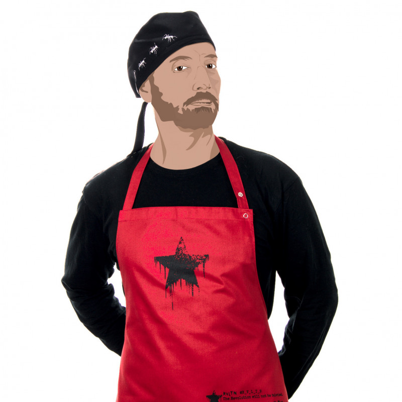 apron @R_V_L_T_N -- The revolution will not be televised
