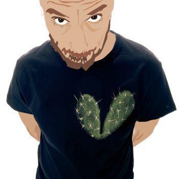 Camiseta Corazón espinado -- ¿Tienes un cactus donde solías tener un corazón?