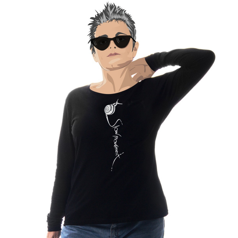 Camiseta manga larga Slowmovement -- Toma el control de tu tiempo
