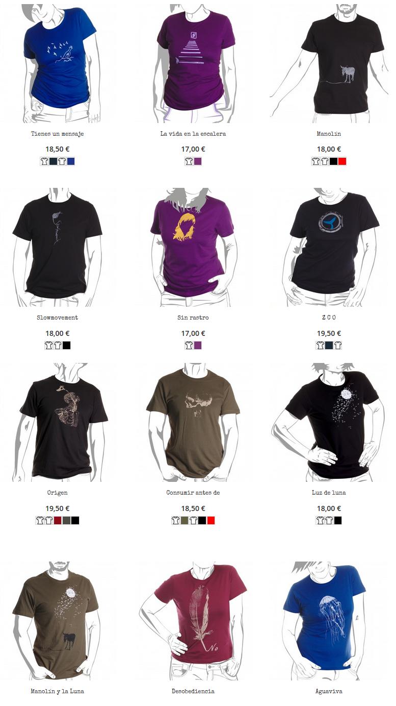 Tienda online de camisetas. Piraito