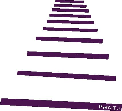 La escalera representando la vida adulta.