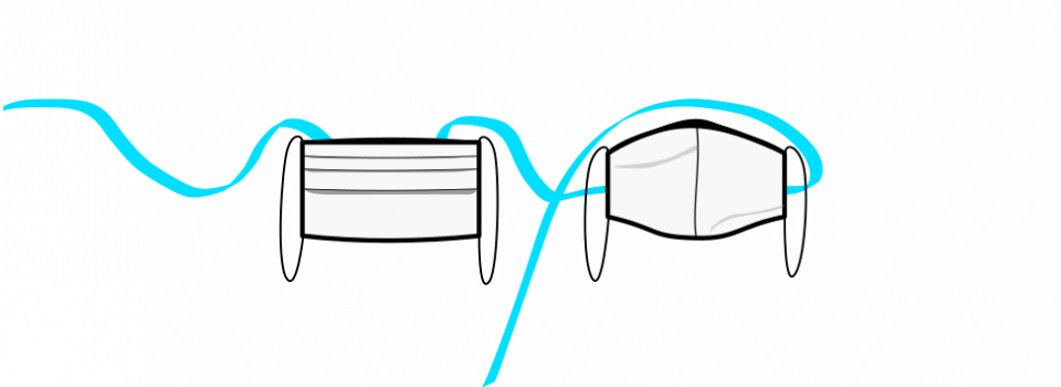 Piraito cloth face masks