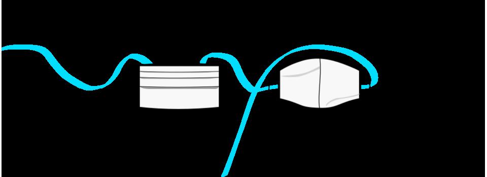 mascarillas de tela reutilizables