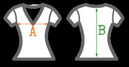 Entallada cuello V