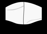mascarilla ovalada